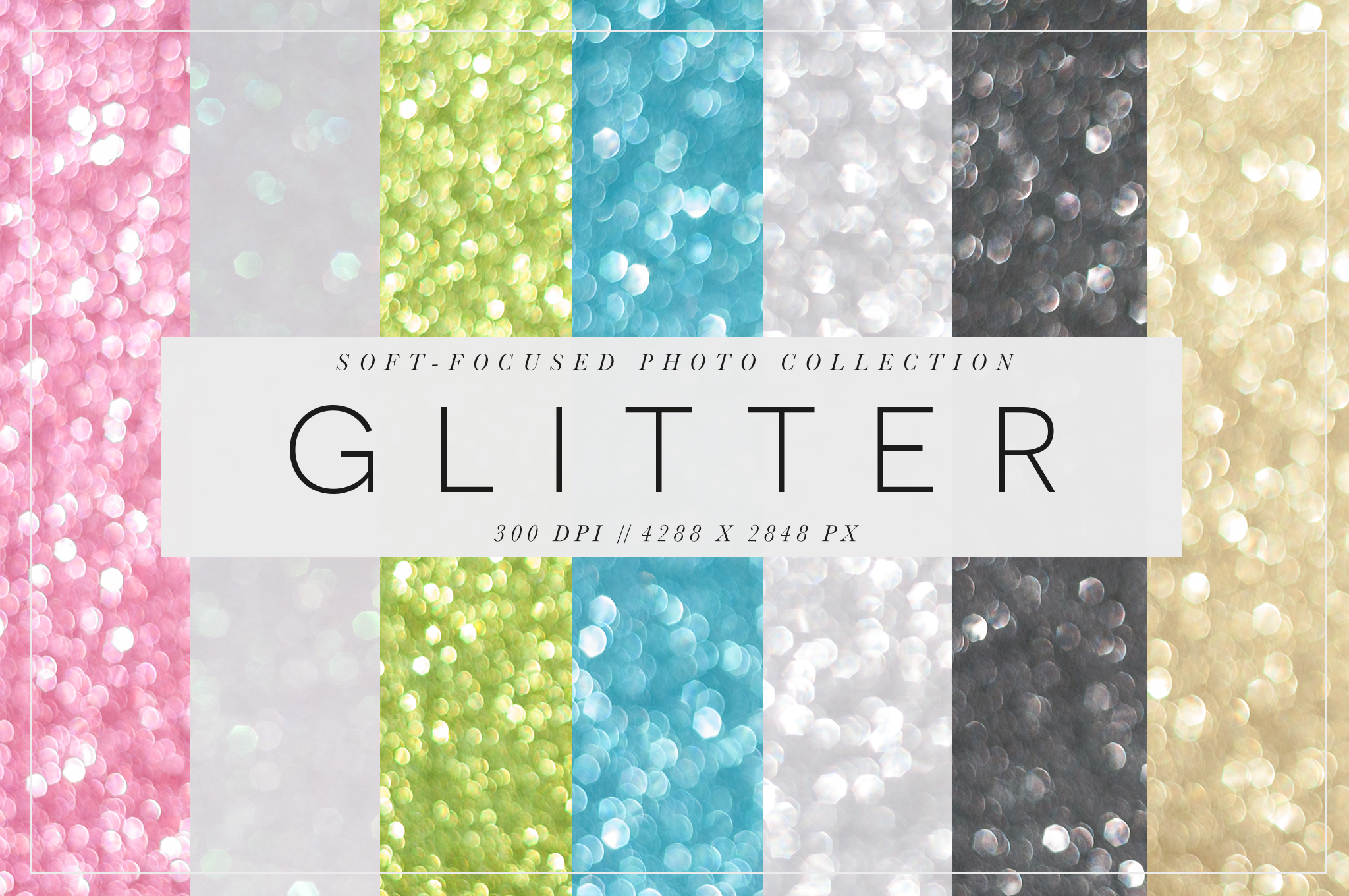 glitter pack cover